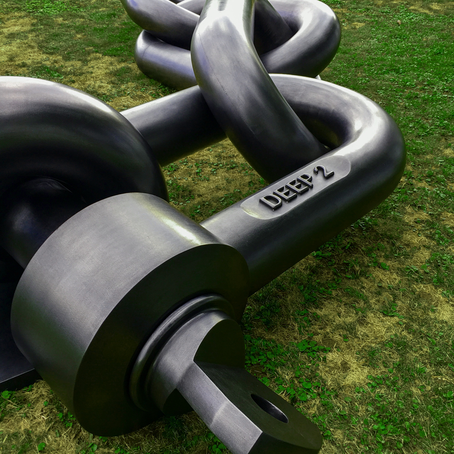 jean-octobon-deep-sculpture-garden-giant-chain