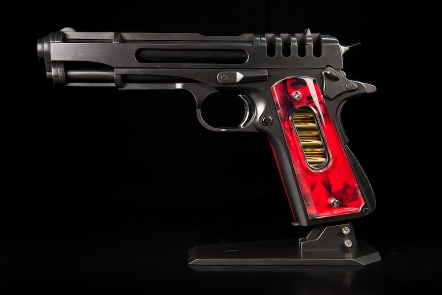 jean-octobon-sculptor-gun-sculpture-pistol
