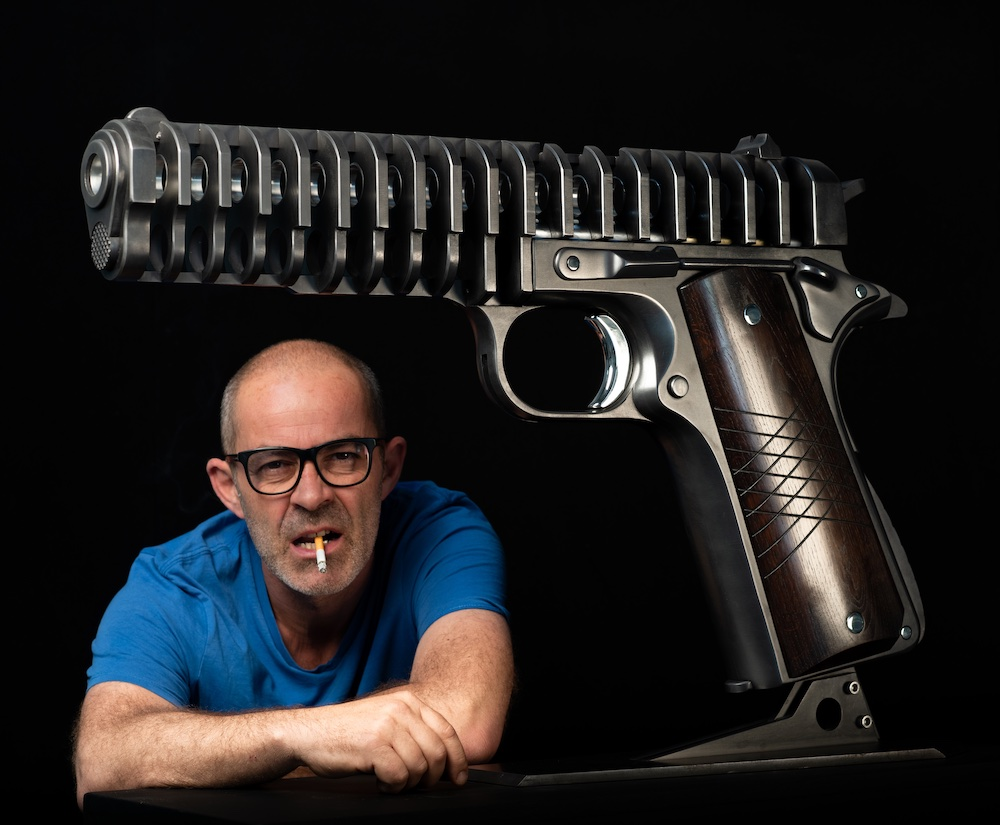 jean-octobon-45-colt-sculpture-gun